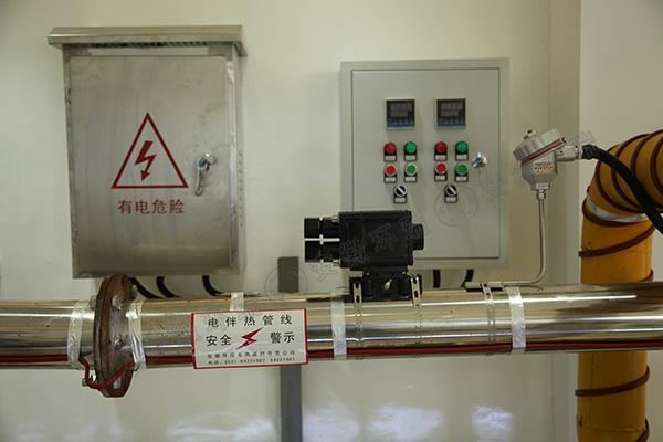 电伴热带安装示意图